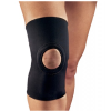 Training with a Knee Brace.