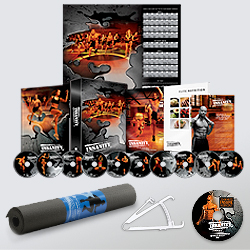 Insanity Deluxe Recovery Package.