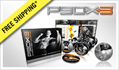 P90X3 DVD Package.