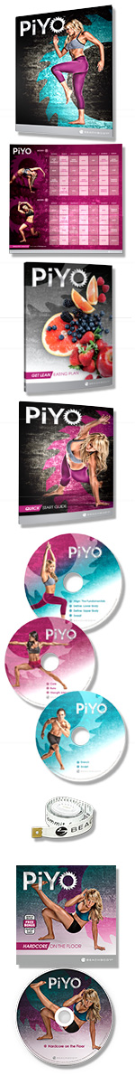 PiYo Base DVD Kit.