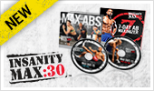 Insanity Max 30 Ab Maximizer DVDs.
