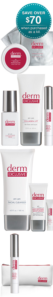 Derm Exclusive Ultimate Kit.