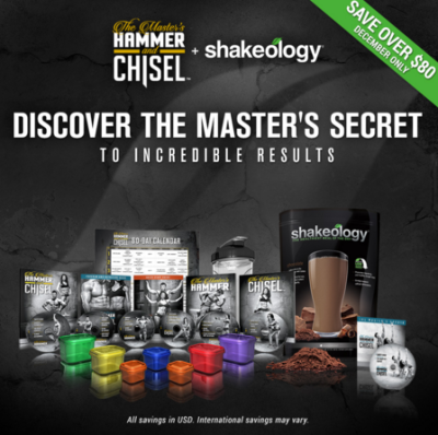 Buy Hammer and Chisel Shakeology Challenge Pack.