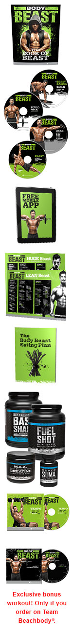 BodyBeast Ultimate Kit.