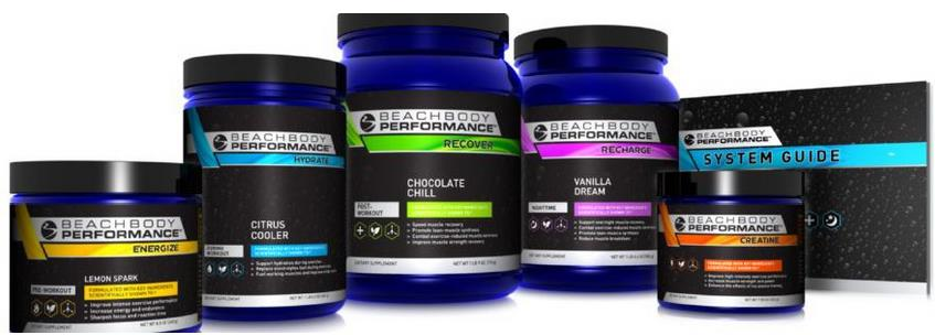 Beachbody High Performance Supplements.
