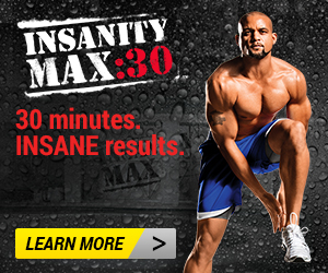 Insanity Max 30 Banner.