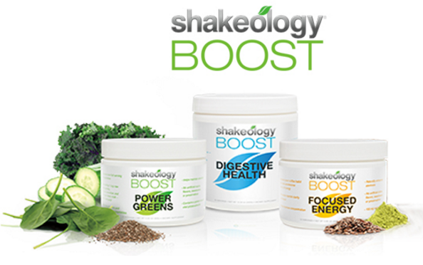 Shakeology Boost Supplements.